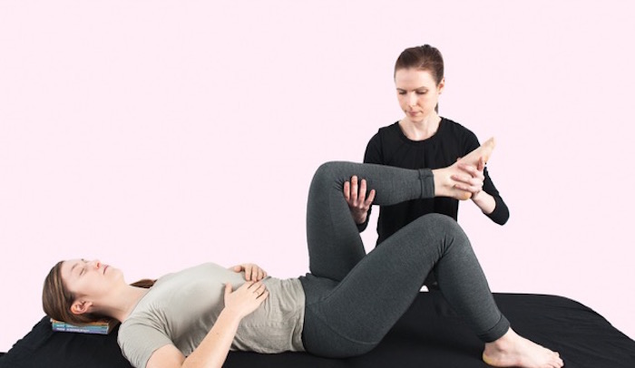 Fiona Bryant teaching Alexander Technique