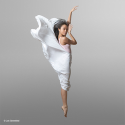Jennifer Minzy Lee. Photo by Lois Greenfield.