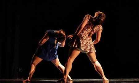 Choreographer Rachel Hettinger's work at the Young Choreographer's Festival.