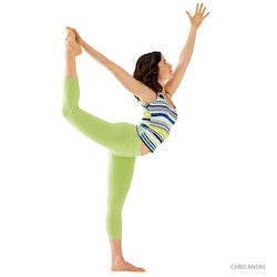 dancer's pose yoga