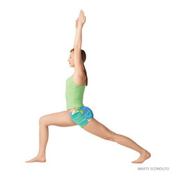 runner's lunge yoga pose