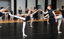 Joffrey Ballet Summer Intesive. Photo by Jody Q Kash
