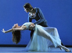 Stanislav Belyaevsky and Anastasia Dunets of International Ballet Workshops. Photo courtesy of IBW.