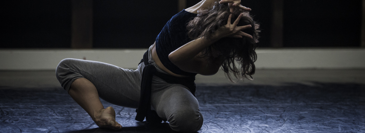 Sydney Dance Company in rehearsal for Daniel Riley's 'Reign'. Dancer Janessa Duffy. Photo by Peter Greig.