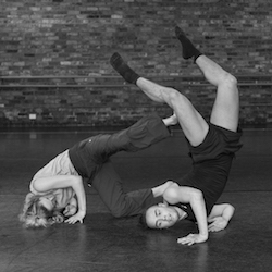 Tasdance studio shot. Choreographer, Stephanie Lake. Tasdance ensemble. Photo by Jen Brown.
