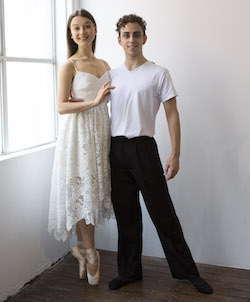 Benedicte Bemet and Marcus Morelli. Photo by Lisa Tomasetti.