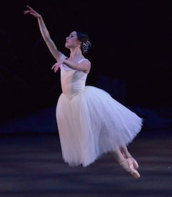 Lucy Green of RNZB in 'Giselle'. Photo by Brendan Bradshaw.