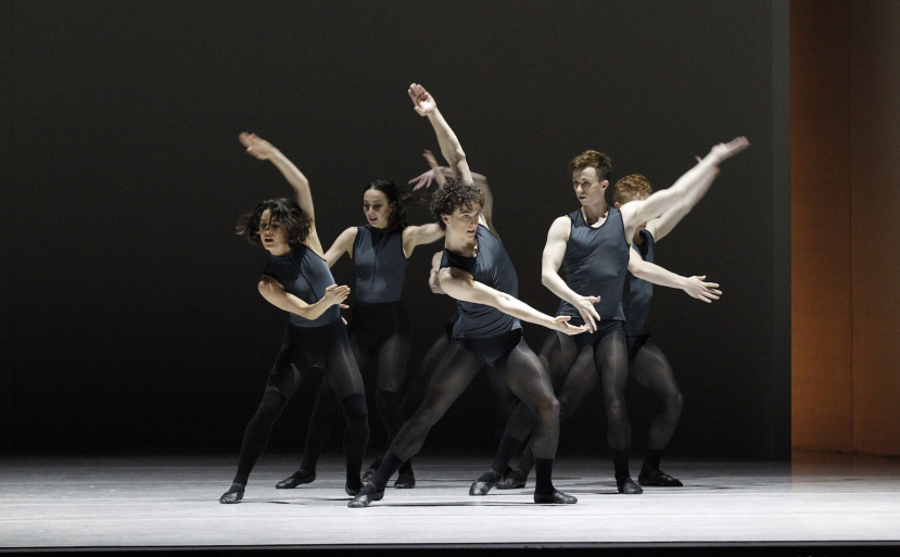 The Australian Ballet in Tim Harbour's 'Filigree and Shadow'. Photo courtesy of The Australian Ballet.