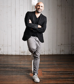Sydney Dance Company Artistic Director Rafael Bonachela. Photo by Peter Greig.