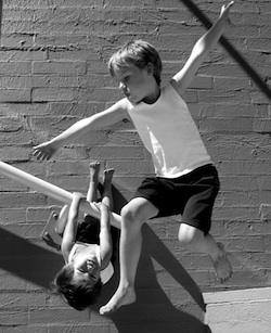 Dancing children for Maths Through Movement. Photo courtesy of Rachael Bott.