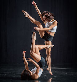 New Zealand School of Dance students, photographed by Stephen A'Court