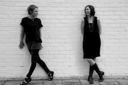 Rachael Bott and Lanie Mason, creators of Creative Moves WA and Math Through Movement. Photo courtesy of Rachael Bott.
