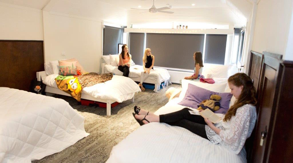 Students at the Australia Ballet School's Marilyn Rowe House. Photo courtesy of ABS.