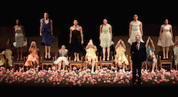 The Adelaide Festival presents 'Nelken' by Pina Bausch. Photo by Tony Lewis.