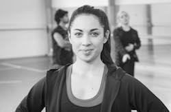 Chrissy Kokiri. Photo by John McDermott, The New Zealand Dance Company.
