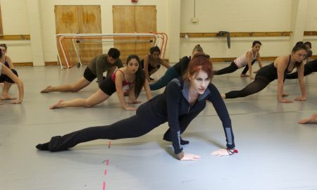 Josie Walsh teaching at the Victorian Dance Festival. Photo courtesy of Josie Walsh.