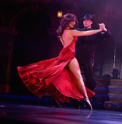 Kallyanne and Mattis on Burn the Floor. Photo courtesy of BTF.