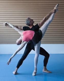 Rain Francis and Simon Storey for DanceBourne Arts. Photo by Alison Shirley.