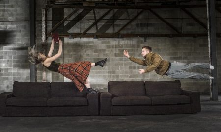 Samantha Hines, Michael Ramsay in ADT's 'Habitus'. Photo by Chris Herzfeld Camlight Productions.