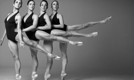 Chiara Ferri, Beatrice Ramsay, Jarrah McArthur and Luanne Hyson. Photo by White Space Photographic Studio.