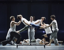 The BalletBoyz in 'Fiction'. Photo by Tristam Kenton.