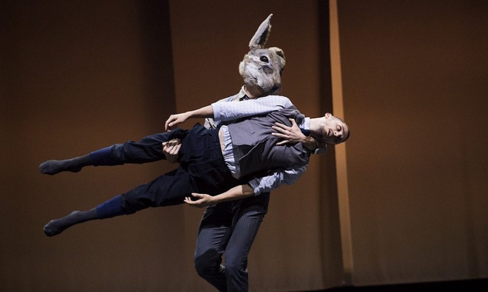 Bradley Waller in BalletBoyz 'Rabbit'. Photo by Tristram Kenton.
