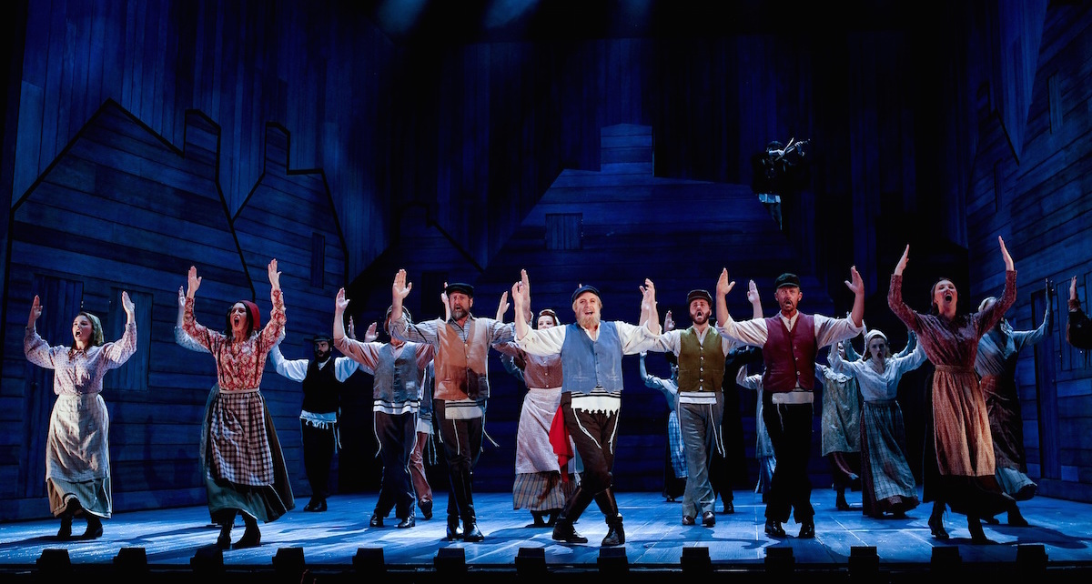 'Fiddler on the Roof' Australian Production. Photo by Jeff Busby.