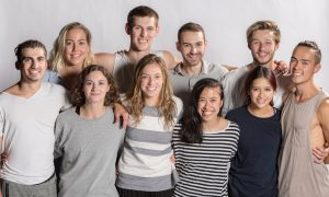 NZSD third-year contemporary students. Photo by Stephen A'Court.