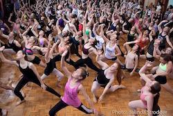 Victorian Dance Festival dance class