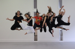YEP! Autumn School. Photo by John McDermott, The New Zealand Dance Company.