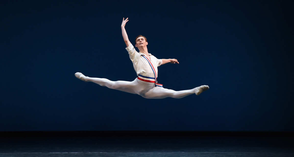 2015 YAGP Senior Finalist Austen Acevedo. Photo courtesy of YAGP