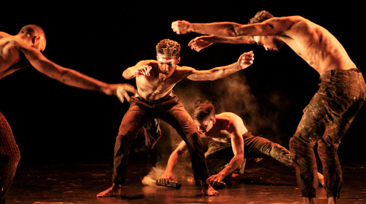 Bangarra Dance Theatre in Blak