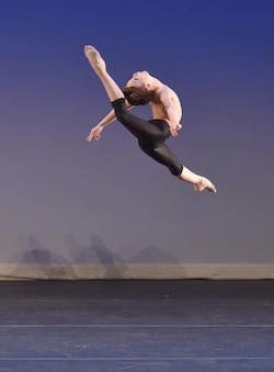 Brady Farrar of Stars Dance Studio Photo courtesy of YAGP.