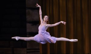 NYCB Principal Lauren Lovette as Juliet in 'Romeo + Juliet'. Choreography by Peter Martins. Photo by Paul Kolnik.