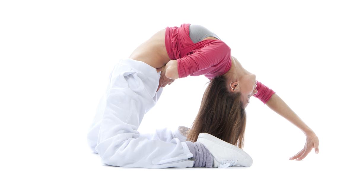 dancer back bend