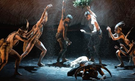 Bangarra Dance Theatre's 'Nyapanyapa', as part of 'OUR land people stories'. Photo by Jhuny Boy-Borja.