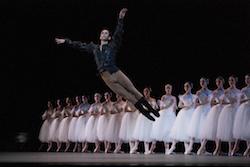 Damian Smith in SF Ballet's 'Giselle'. Photo by Erik Tomasson