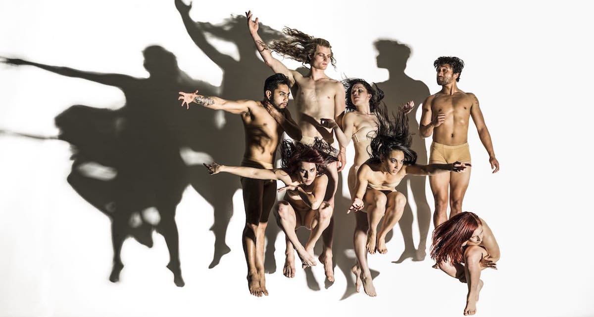 New Zealand Dance Company in 'Lumina'. Photo courtesy of NZDC.