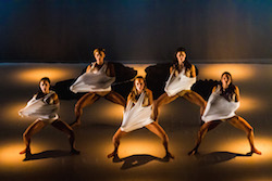 Okareka Dance Company in 'Mana Wahine'. Photo courtesy of Okareka