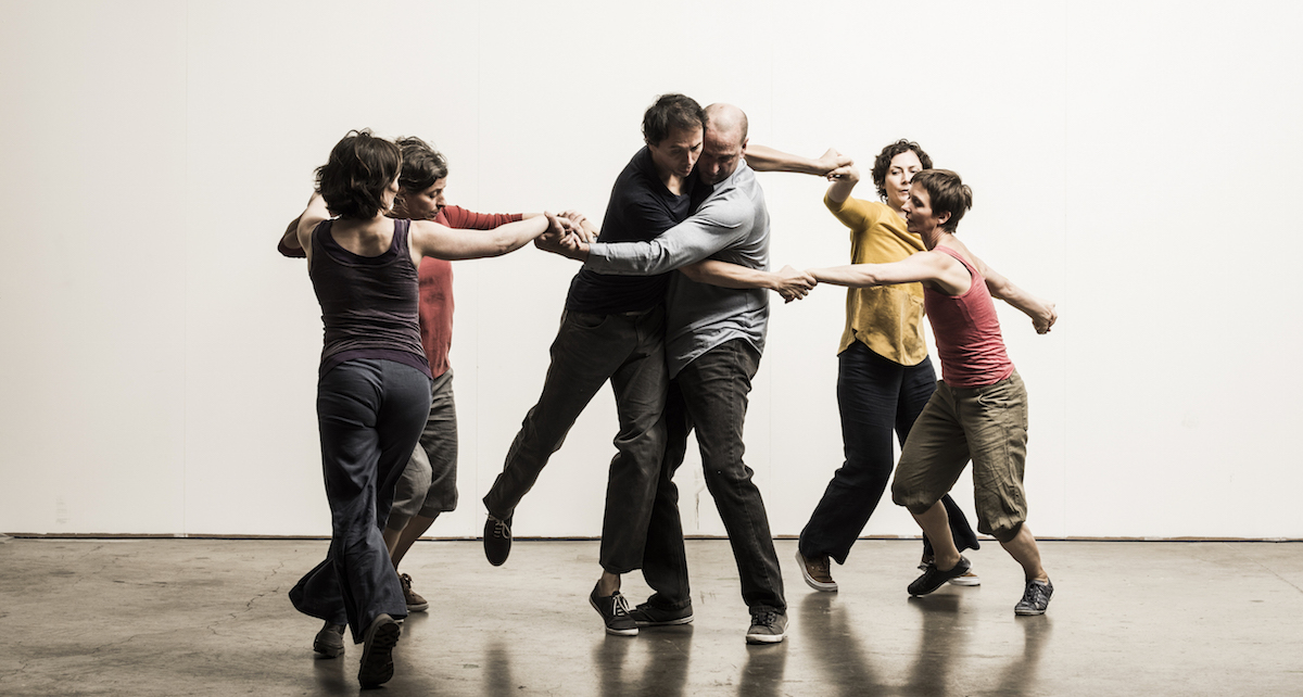 'Time Over Distance Over Time', choreographed by Liz Roche. Photo by Luca Truffarelli.