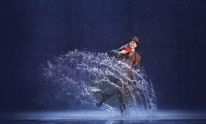 Adam Garcia in 'Singin' in the Rain'. Photo by Jeff Busby.
