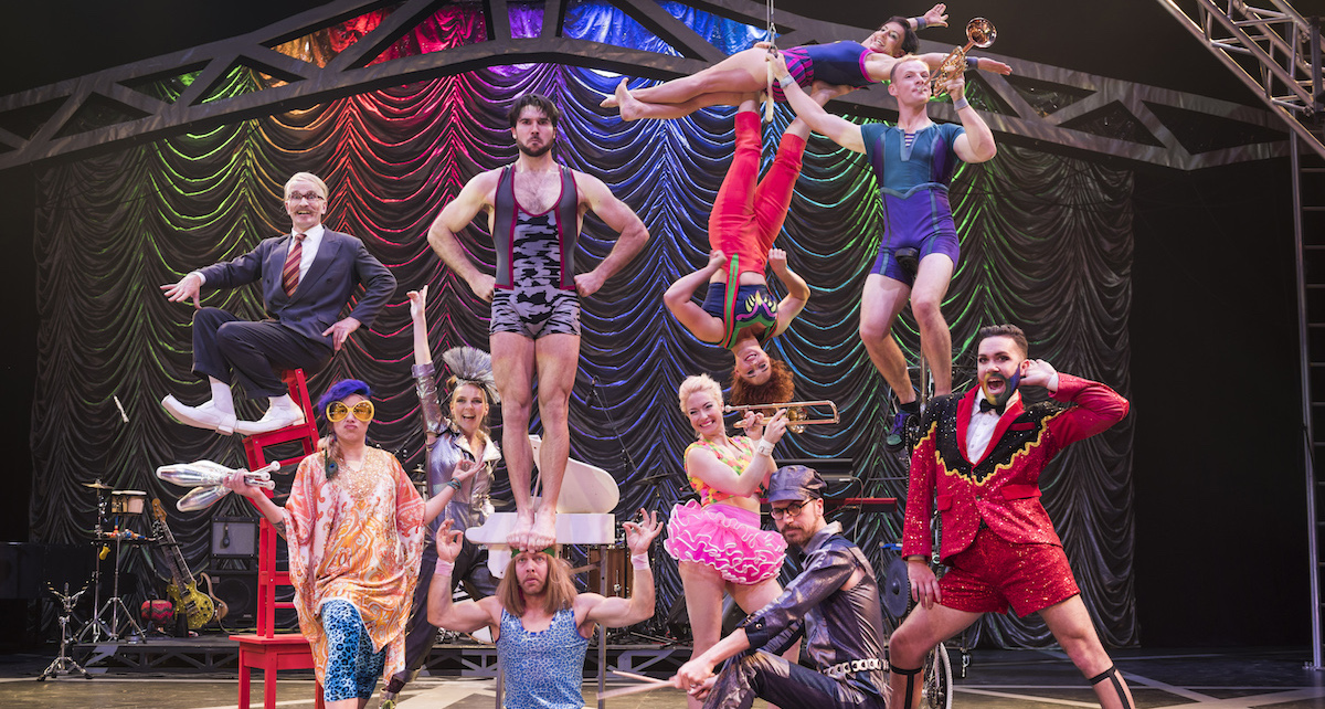 Circus Oz ensemble. Photo by Rob Blackburn.