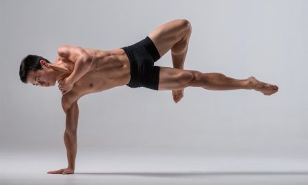New Zealand School of Dance student Isaac Goh. Photo by Stephen A'Court.