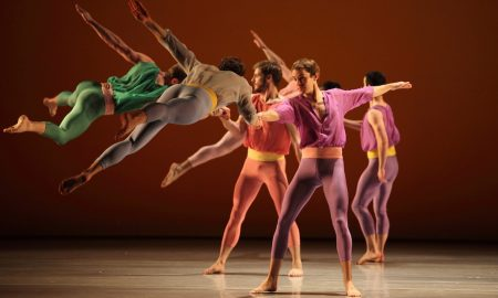 A still from the Mark Morris film, 'L'Allegro, il Penseroso ed il Moderato'. Photo courtesy of NZSD.