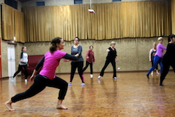 An adult dance class at Move Through Life. Photo courtesy of Jo McDonald.