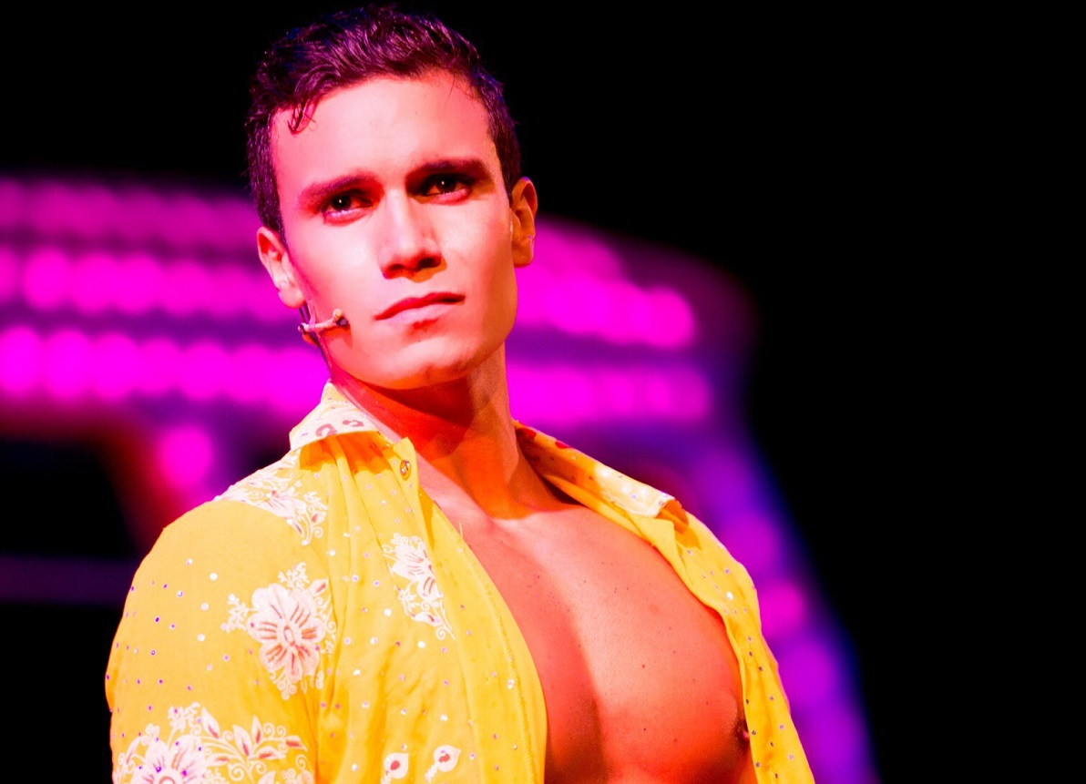 Euan Doidge in Priscilla Queen of the Desert