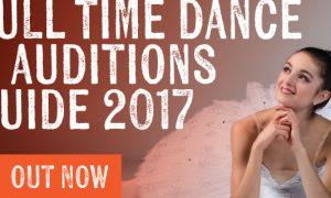 Australian Full Time Dance Auditions Guide