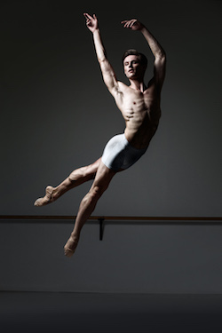 Queensland Ballet's Joel Woellner. Photo by David Kelly.