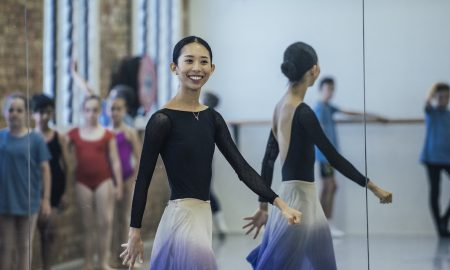 Queensland Ballet's Lina Kim. Photo courtesy of Queensland Ballet.