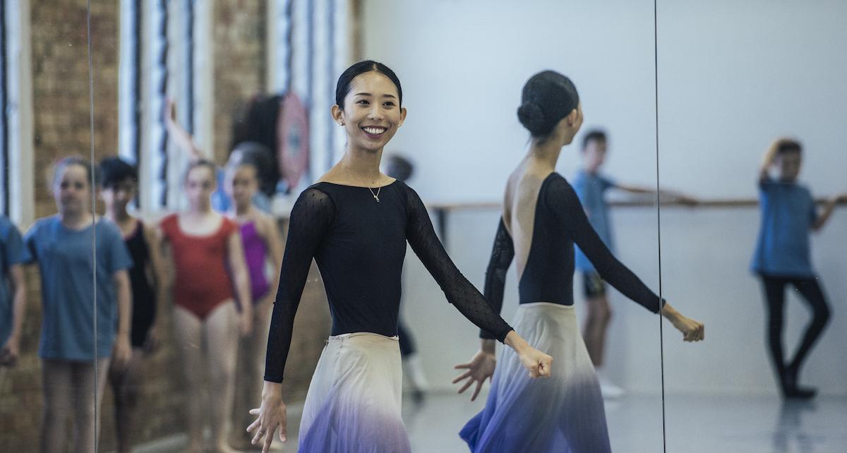 Queensland Ballet's Lina Kim. Photo courtesy of Queensland Ballet.